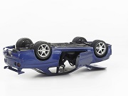 car upside down